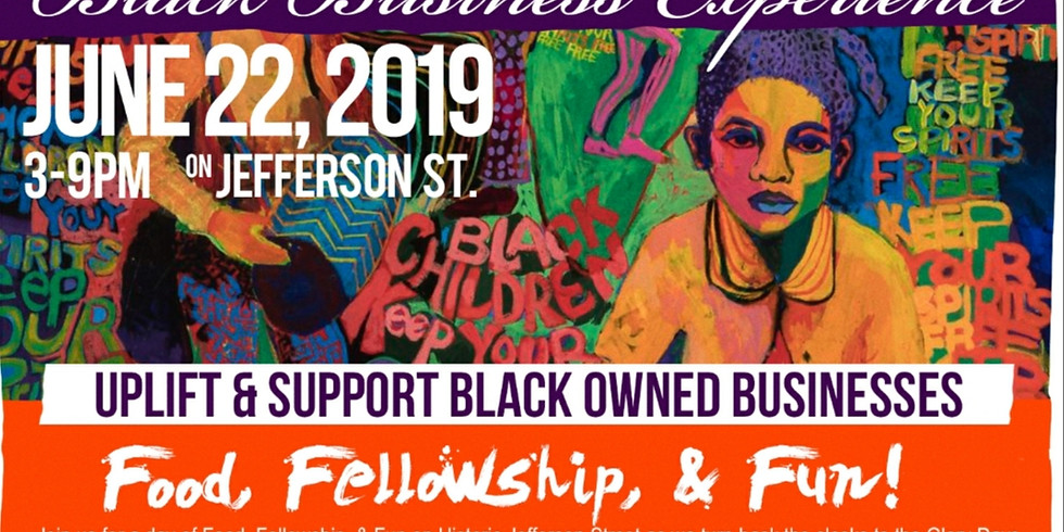 Mo' Scrubs at Juneteenth Black Business Experience