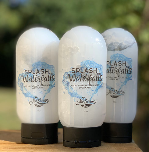 Splash Waterfalls - All Natural Lubricant