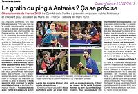 championnats de france 2019 article ouest france du 21 décmbre 2017