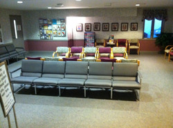 Healthcare office waiting room