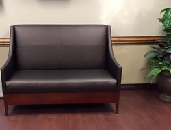 Healthcare office waiting room bench