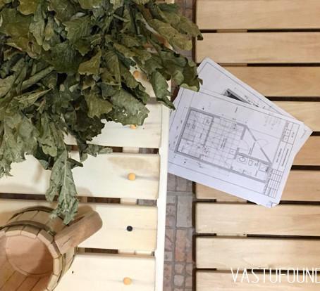 Реконструкция гостевого домика в баню по Васту