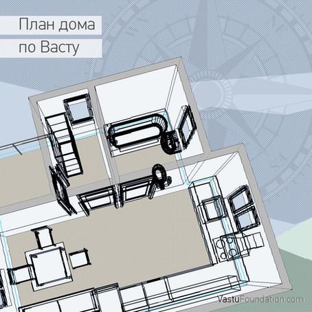 С чего начинается план дома по Васту?