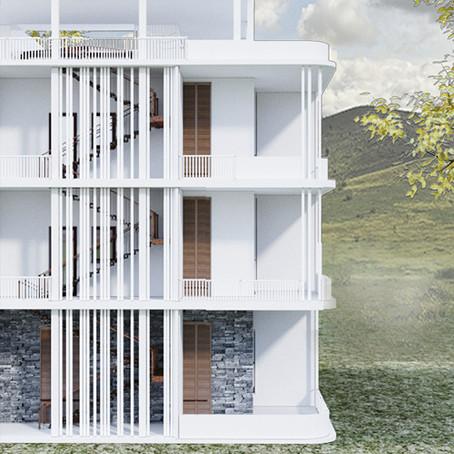 Проект жилого трёхэтажного дома по Васту