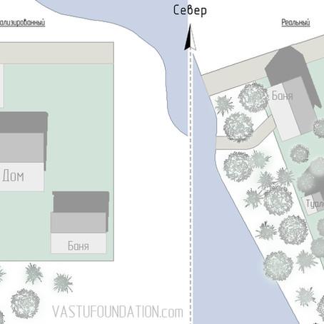 Планирование дачного участка по Васту