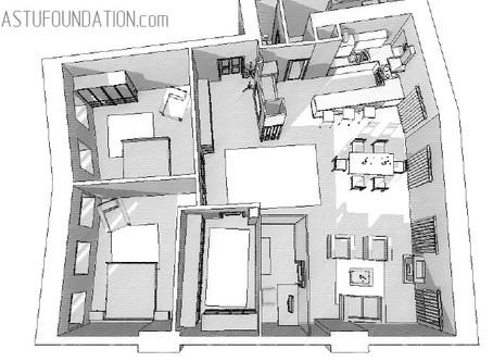 Коррекция квартиры с нестандартной планировкой