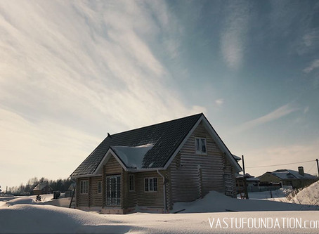Адаптация готового проекта дома по Васту