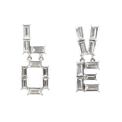 L.O.V.E. Avantgarde Statement Pierced Earrings