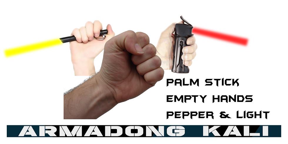 Armadong Empty Hands, Palm Stick, Pepper & Light