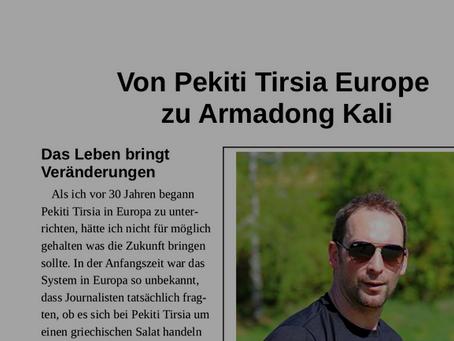 Von Pekiti Tirsia Europe zu Armadong Kali