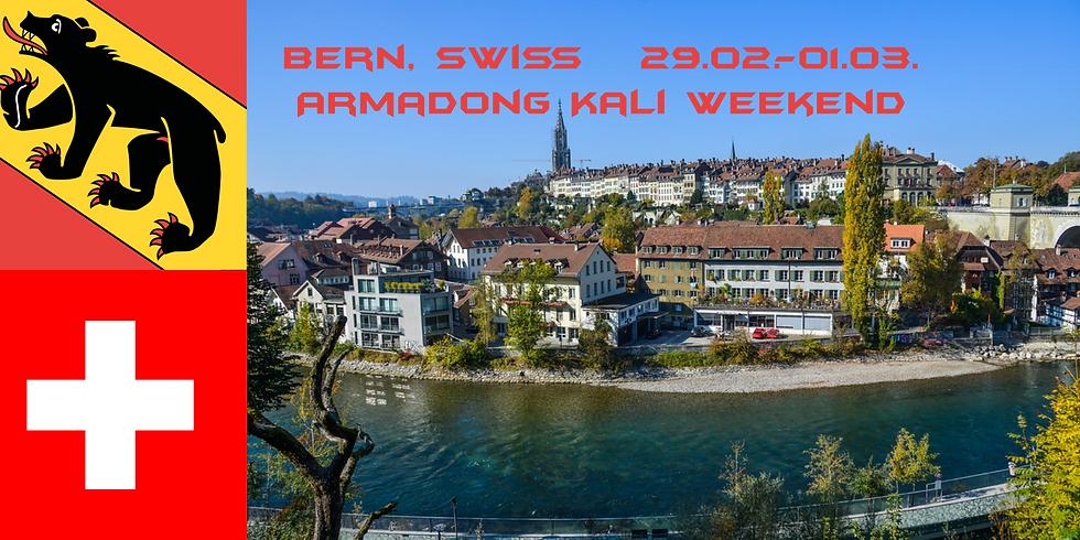 Armadong Kali Weekend in Bern, Switzerland
