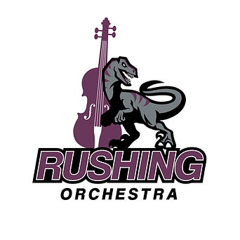 Rushing Middle School Orchestra Logo