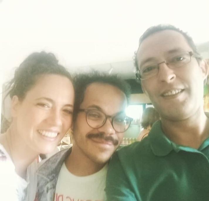 Tiê, Andre Henrique e Maestro Douglas Gomes