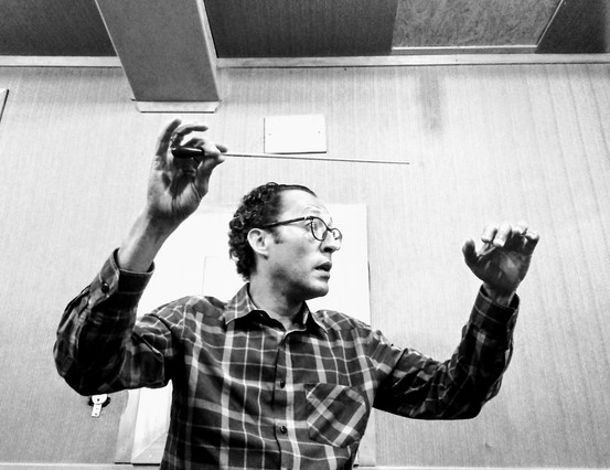 Maestro Douglas Gomes - ensaio Summer Chamber Orchestra