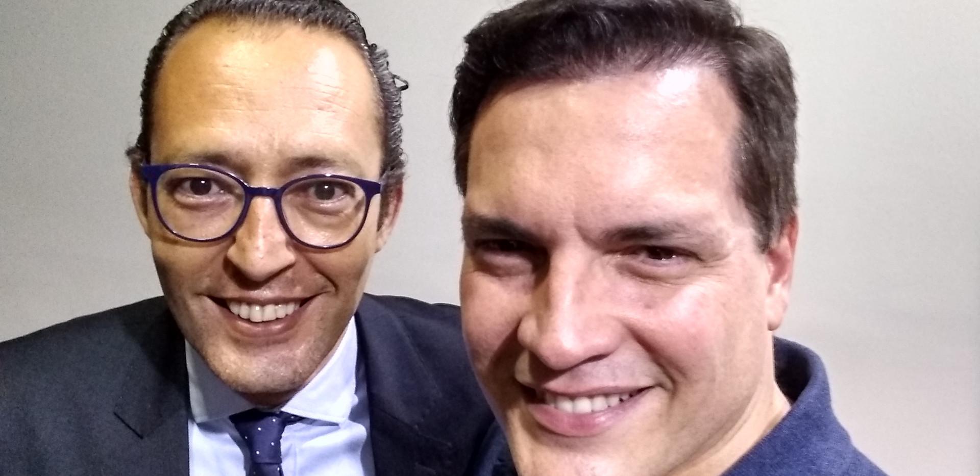 Maestro Douglas Gomes e Daniel Boaventura