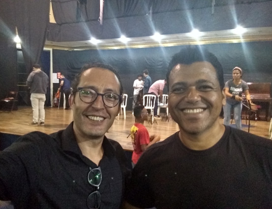 Maestros Douglas Gomes e Fernando Andrade - Filarmônica de Itu