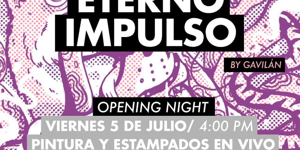 "ARTE: Galería Casa Kilele presenta ""Eterno Impulso"" de Gavilán"