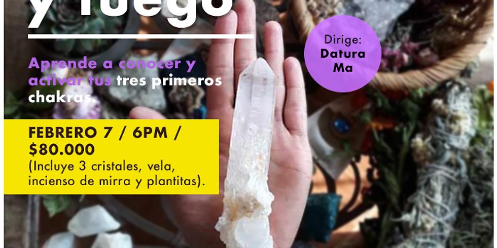 """MÓDULO: """"Movimiento y Cristales"""" en la Experiencia Holística"""