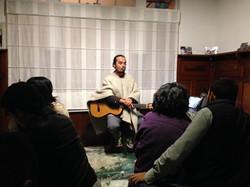 Edson Velandia en Casa Kilele