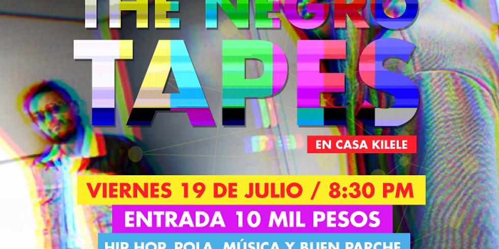 MÚSICA: The Negro Tapes en Casa Kilele