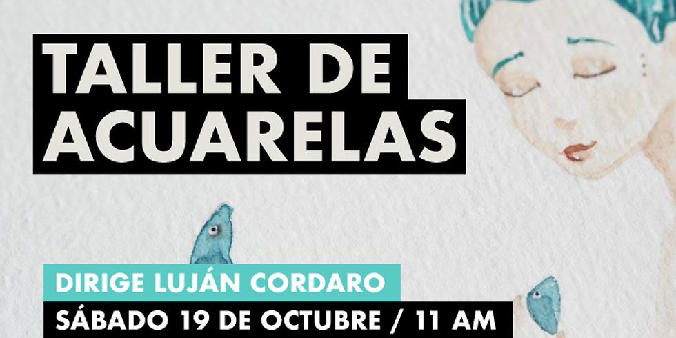 ARTE: Taller de acuarela con Luján Cordaro en Casa Kilele