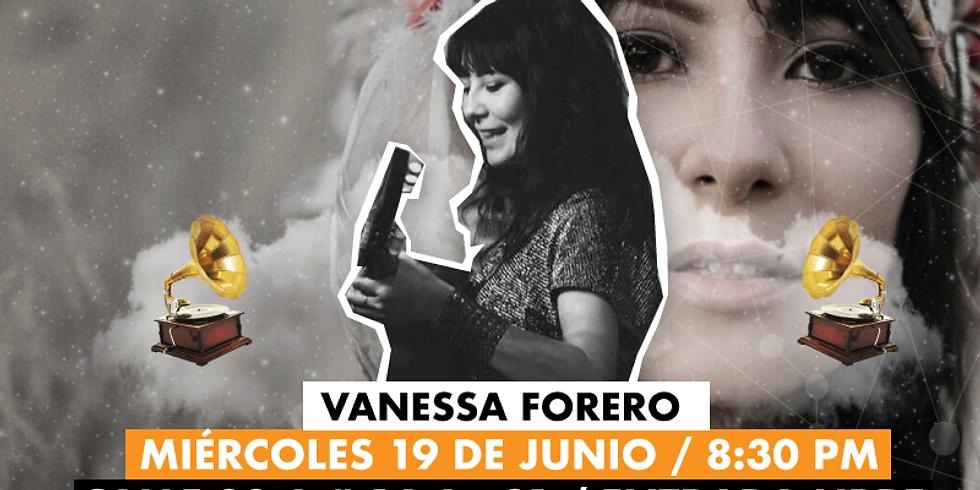 Vanessa Forero en Akústicos Kilele