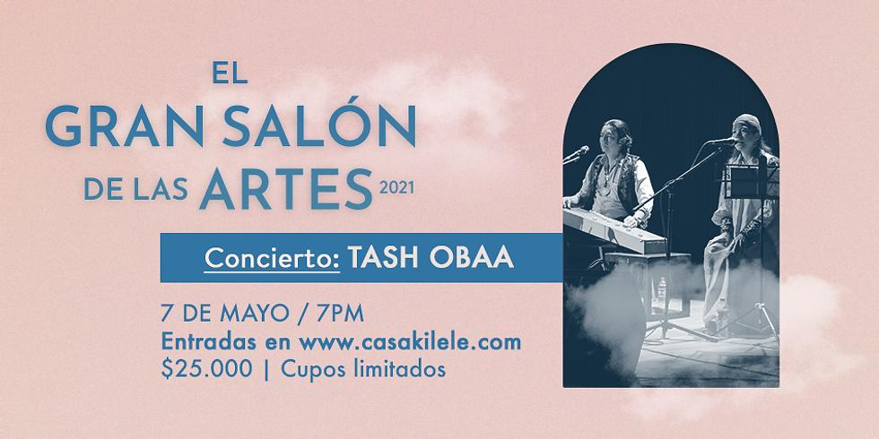 TASH OBAA en concierto