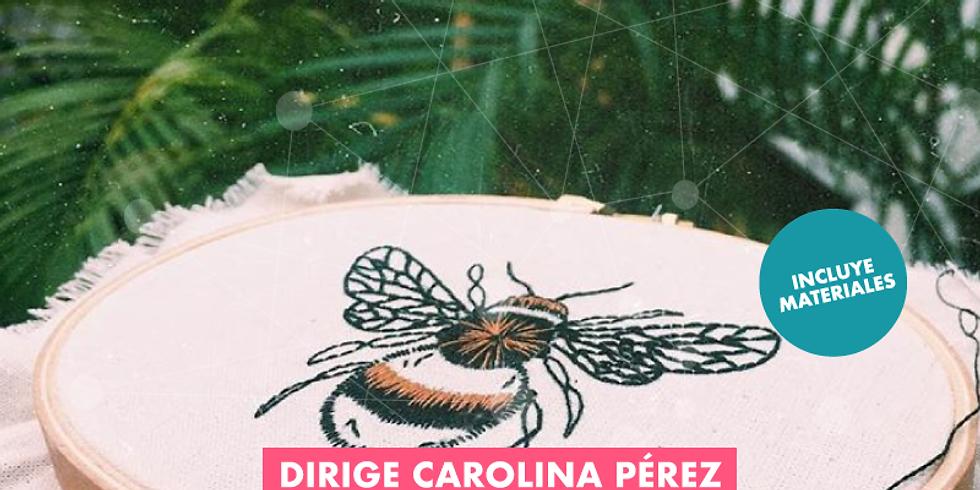Taller de Bordados con Carolina Perez
