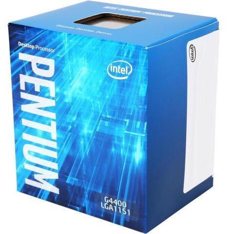 INTEL G4400 PENTIUM DUAL CORE 3.3GHz 3MB 1151PIN BOX CPU