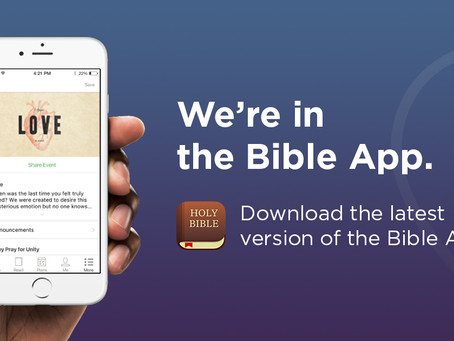 Church notes on the Bible App