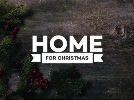 Home for Christmas December 2020