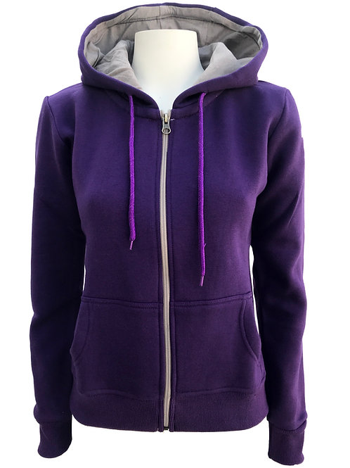 Hoodie - Iowa purple
