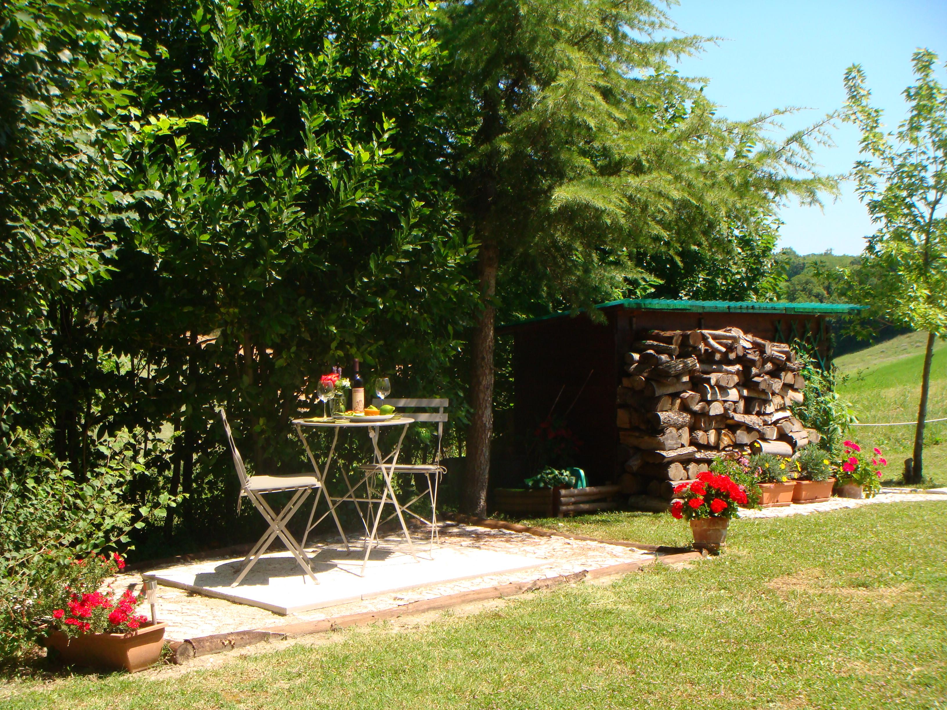 Cardellino - rear private patio