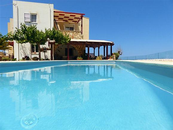 Villa Miramare, Mathés - Crete
