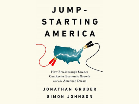 Upcoming Public Talk about Jump-Starting America
