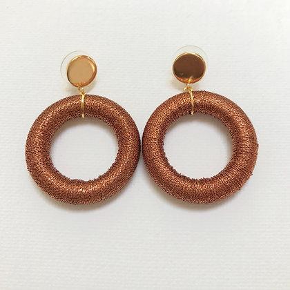 Luci Hoop in Copper
