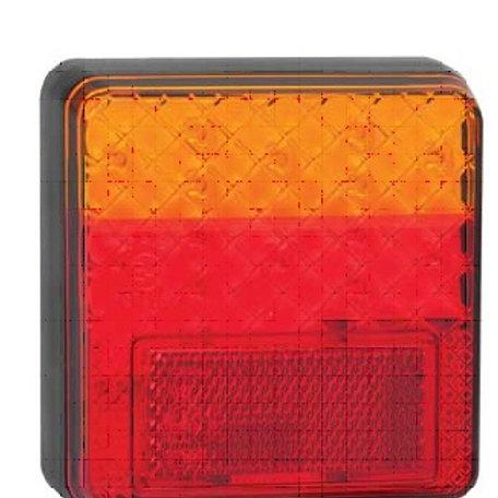 100MM STOP/TAIL/INDICATOR LED 12VOLT LIGHTS