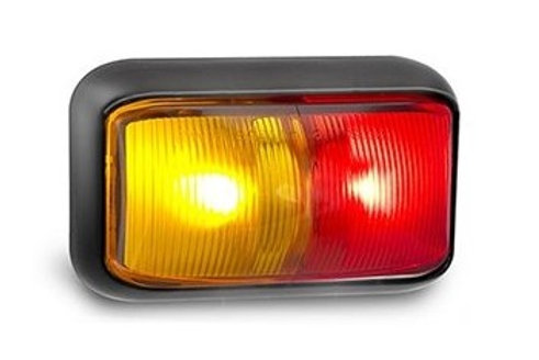 CLEARANCE LIGHTS RED/AMBER 58MM X 35