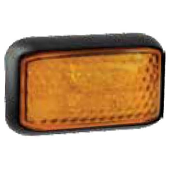 CLEARANCE LIGHTS AMBER 58MM X 35MM
