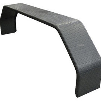 TANDEM GUARDS SUIT 14 INCH - BLACK CHECKER PLATE