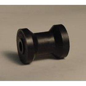 3 INCH KEEL ROLLER - BLACK -17MM BORE