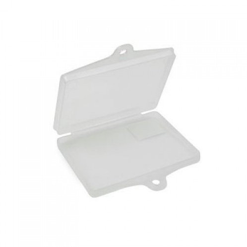 REGO HOLDER  CLEAR PLASTIC