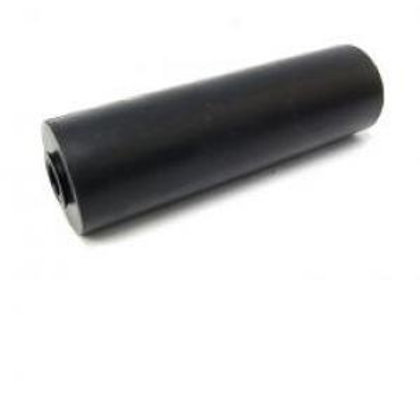 12 INCH FLAT ROLLER - GREY - 25MM BORE