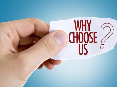 Why Us? Blog