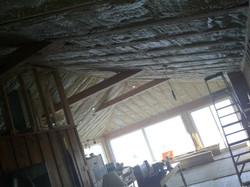 Unfinished cedar Ceiling