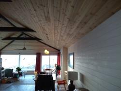 Finished cedar ceiling 3