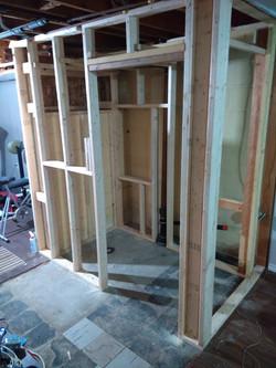 Basement Bathroom unfinished