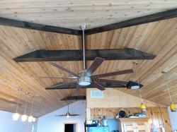 Finished Cedar Ceiling