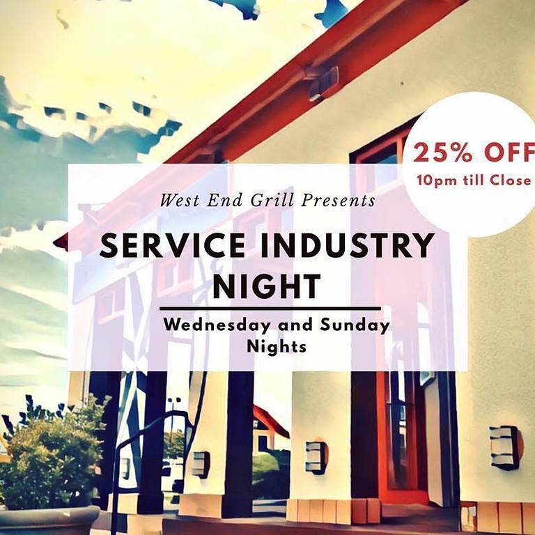 Service Industry Night (SIN)