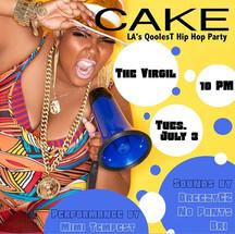 #CakepartyLA